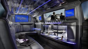 Black Limo Interior