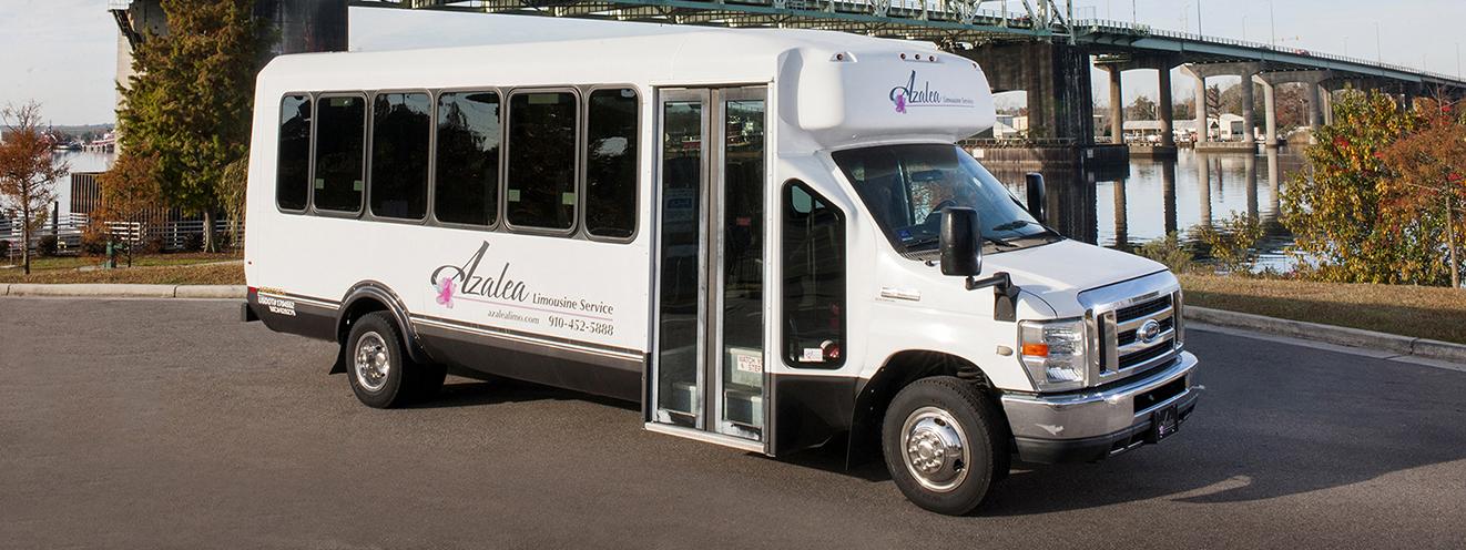 24 passenger VIP Bus Wilmington NC