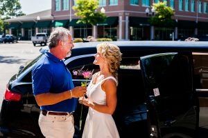 Anniversary-limo-ride-wilmington-nc
