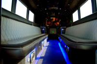 Limo Bus Interior Wilmington NC